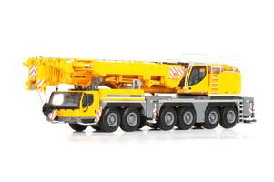 Liebherr LTM 1350-6.1 Mobile Crane Yellow 1/50 Diecast Model WSI Models 02-1024