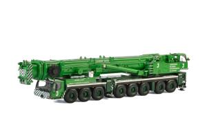 Liebherr LTM 1500-8.1 James Jack Lifting Mobile Crane Green 1/50 Diecast Model WSI Models 51-2007