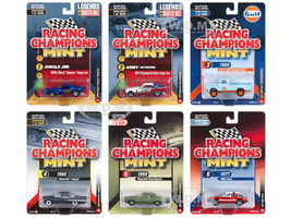 2018 Mint Release 2 Set A 6 Cars 1/64 Diecast Models Racing Champions RC008 A