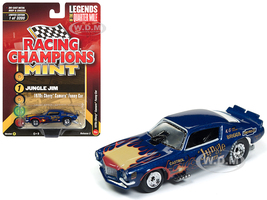 1970 Chevrolet Camaro Funny Car Jungle Jim Blue Flames Limited Edition 3200 pieces Worldwide 1/64 Diecast Model Car Racing Champions RCSP006