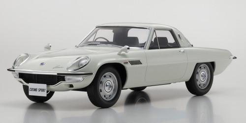 Mazda Cosmo Sport White Limited Edition 600 pieces Worldwide 1/12 Model Car Kyosho KSR 12004 W