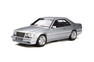 Mercedes Benz C124 E36 AMG Coupe Brilliant Silver Limited Edition 1500 pieces Worldwide 1/18 Model Car Otto Mobile OT731