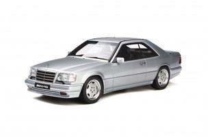 Mercedes Benz C124 E36 AMG Coupe Brilliant Silver Limited Edition 1500 pieces Worldwide 1/18 Model Car Otto Mobile OT731