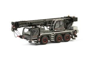 Liebherr LTM 1050-3.1 Mobile Crane Black WSI Premium Line 1/50 Diecast Model WSI Models 54-2002
