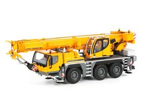 Liebherr LTM 1050-3.1 Mobile Crane Yellow 1/50 Diecast Model WSI Models 9478