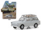 1968 Volkswagen Type 3 Squareback Lotus White Roof Rack Estate Wagons Series 1 1/64 Diecast Model Car Greenlight 29910 D