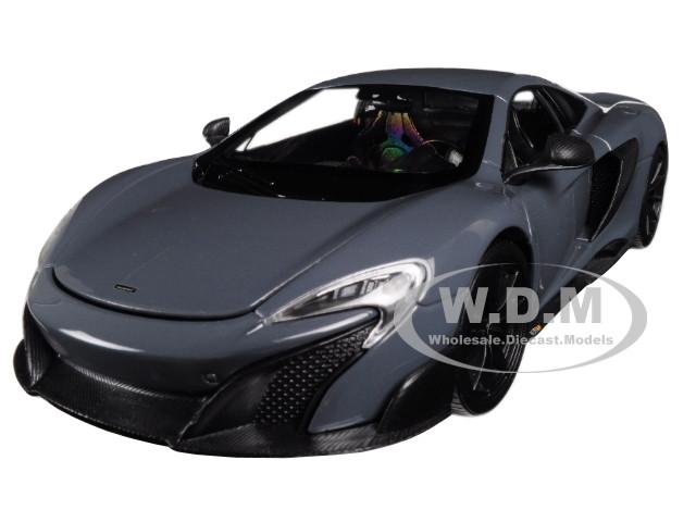 McLaren 675LT Coupe Gray 1/24 1/27 Diecast Model Car Welly 24089