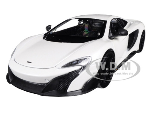 McLaren 675LT Coupe White 1/24 1/27 Diecast Model Car Welly 24089