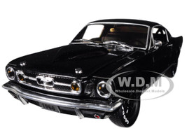1966 Ford Mustang 2+2 GT Black Pearl Metallic Limited Edition 5880 pieces Worldwide 1/24 Diecast Model Car M2 Machines 40300-64 B