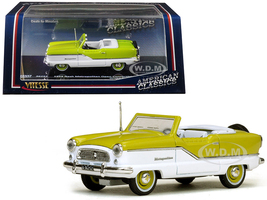 1959 Nash Metropolitan Green White 1/43 Diecast Model Car Vitesse 36252