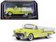 1955 Chevrolet Bel Air Open Convertible Harvest Gold Yellow 1/43 Diecast Model Car Vitesse 36297