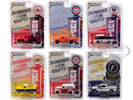 Running on Empty Series 6 Set 6 Cars 1/64 Diecast Model Cars Greenlight 41060