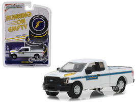 2016 Ford F-150 Pickup Truck Goodyear Tire Service White Blue Stripes Running on Empty Series 6 1/64 Diecast Model Car Greenlight 41060 F