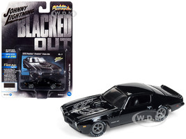 1973 Pontiac Firebird Trans Am Gloss Black Silver Bird Hood Limited Edition 3700 pieces Worldwide 1/64 Diecast Model Car Johnny Lightning JLCP7120