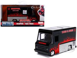 Deadpool Taco Truck Black Marvel Series 1/32 Diecast Model Jada 30864