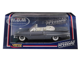 1959 Chevrolet Impala Open Convertible Grecian Gray 1/43 Diecast Model Car Vitesse 36229