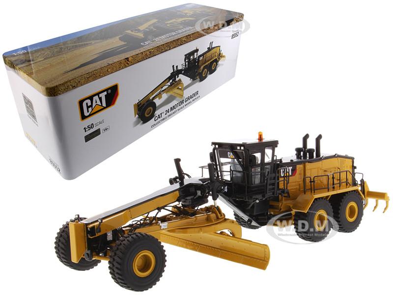 CAT Caterpillar 24 Motor Grader Operator High Line Series 1/50 Diecast Model Diecast Masters 85552