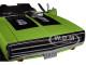 1970 Dodge Charger R/T SE 440 Sublime Green Black Top Black Stripes 1/18 Diecast Model Car Greenlight 13529