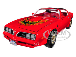 1977 Pontiac Firebird Trans Am Buccaneer Red Limited Edition 1002 pieces Worldwide 1/18 Diecast Model Car Autoworld AMM1160