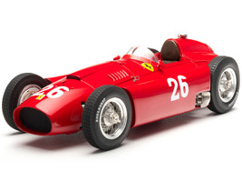 1956 Ferrari Lancia D50 #26 Peter Collins Manuel Fangio Grand Prix Monza Italy Limited Edition 1000 pieces Worldwide 1/18 Diecast Model Car CMC 183