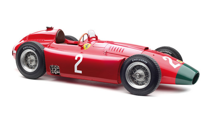1956 Ferrari Lancia D50 Long Nose #2 Peter Collins Grand Prix of Germany Limited Edition 1000 pieces Worldwide 1/18 Diecast Model Car CMC 185