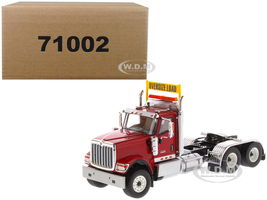 International HX520 Day Cab Tandem Tractor Red 1/50 Diecast Model Diecast Masters 71002
