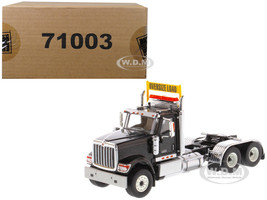 International HX520 Day Cab Tandem Tractor Black 1/50 Diecast Model Diecast Masters 71003