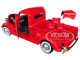 1937 Ford Pickup Truck Coca Cola Red 6 Bottle Carton Accessories 1/24 Diecast Model Car Motorcity Classics 424065