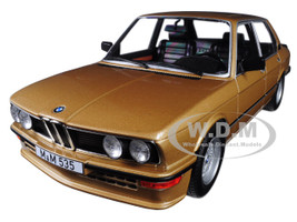 1980 BMW M535i Metallic Gold 1/18 Diecast Model Car Norev 183268