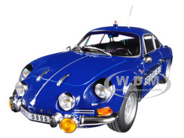 1971 Renault Alpine A110 1600S Gendarmerie Dark Blue 1/18 Diecast Model Car Norev 185301