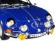 1971 Renault Alpine A110 1600S Gendarmerie Dark Blue 1/18 Diecast Model Car Norev 185301