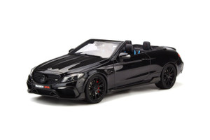 Mercedes Benz Brabus 650 Convertible Black Limited Edition 500 pieces Worldwide 1/18 Model Car GT Spirit GT206