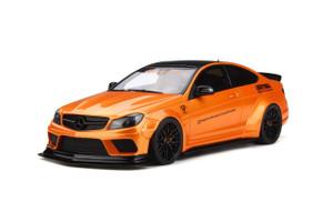Mercedes Benz C63 LB Works Metallic Orange Black Top Limited Edition 999 pieces Worldwide 1/18 Model Car GT Spirit GT215