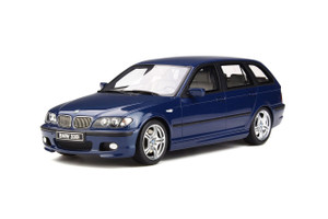 BMW 330i E46 Touring M Pack Mystic Blue Limited Edition 2000 pieces Worldwide 1/18 Model Car Otto OT251