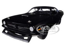 1970 Plymouth Barracuda Trans Am Matt Black Street Version Limited Edition 522 pieces Worldwide 1/18 Diecast Model Car Acme A1806108