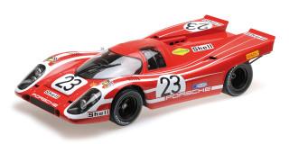 Porsche 917K Shell #23 Attwood Herrmann Winners 1970 Le Mans 24 Hours 1/12 Diecast Model Car Minichamps 125706623