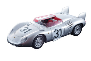 Porsche 718 RSK #31 Edgar Barth Paul Frere 4 Place 1958 Le Mans 24 Hours Mythos Series Limited Edition 100 pieces Worldwide 1/18 Model Car Tecnomodel TM18-82 A