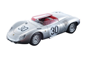 Porsche 718 RSK #30 Richard von Frankenberg Claude Storez DNF Did Not Finish 1958 Le Mans 24 Hours Mythos Series Limited Edition 80 pieces Worldwide 1/18 Model Car Tecnomodel TM18-82 B
