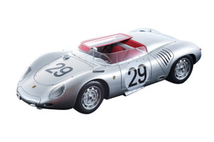 Porsche 718 RSK #29 Jean Behra Hans Herrmann 3 Place 1958 Le Mans 24 Hours Mythos Series Limited Edition 80 pieces Worldwide 1/18 Model Car Tecnomodel TM18-82 C
