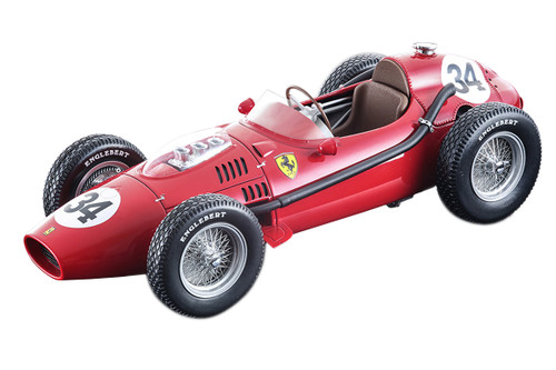 Ferrari Dino 246 #34 Luigi Musso 2 Place Formula 1 F1 Monaco Grand Prix 1958 Mythos Series Limited Edition 100 pieces Worldwide 1/18 Model Car Tecnomodel TM18-116 B