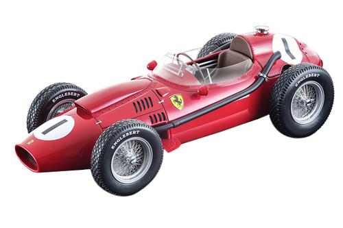 Ferrari Dino 246 #1 Peter Collins Winner Formula 1 F1 England Grand Prix 1958 Mythos Series Limited Edition 100 pieces Worldwide 1/18 Model Car Tecnomodel TM18-116 C