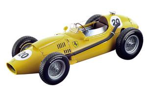 Ferrari Dino 246 #20 Oliver Gendebien Ecurie Francorchamps Team Formula 1 F1 Belgium Grand Prix 1958 Mythos Series Limited Edition 100 pieces Worldwide 1/18 Model Car Tecnomodel TM18-116 D