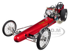 Vintage Dragster Tommy Ivo's Barnstormer Valvoline Limited Edition 600 pieces Worldwide 1/18 Diecast Model Car GMP 1889