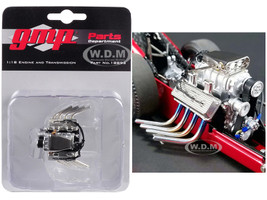Engine Transmission Pack Replica Tommy Ivo's Barnstormer Vintage Dragster 1/18 Model GMP 18893