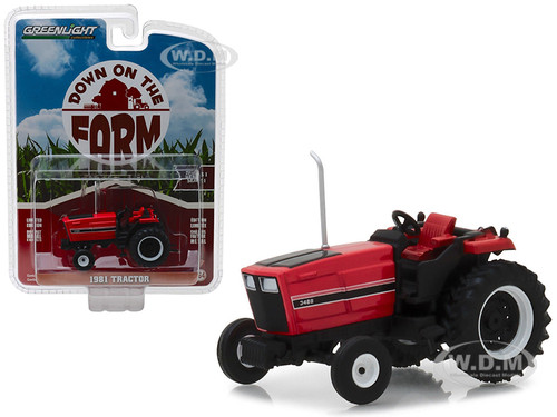 1981 Tractor 3488 Red Black Down on the Farm Series 1 1/64 Diecast Model Greenlight 48010 E