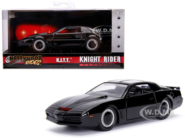 1982 Pontiac Firebird Trans Am Black KITT Knight Rider 1982 TV Series Hollywood Rides Series 1/32 Diecast Model Car Jada 99799