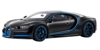 Bugatti Chiron 42 Black Limited Edition 300 pieces Worldwide 1/12 Model Car Kyosho KSR08664 BK