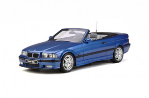 BMW M3 E36 Cabriolet Blue Limited Edition 2000 pieces Worldwide 1/18 Model Car Otto OT279