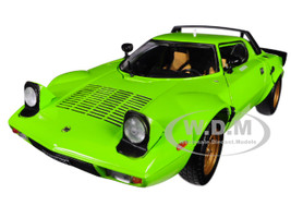 1975 Lancia Stratos Stradale Green 1/18 Diecast Model Car Sunstar 4522