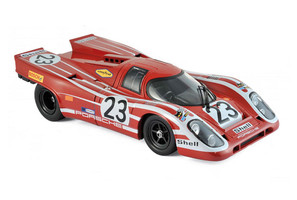 Porsche 917K Shell #23 Richard Attwood Hans Herrmann Winners 24 Hours Le Mans 1970 France 1/12 Diecast Model Car Norev 127501